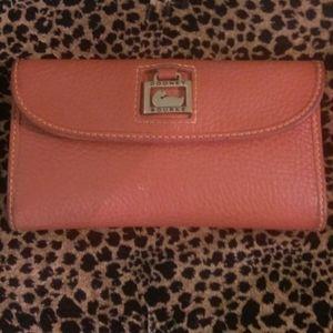 Donney & Bourke leather wallet